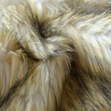Imitation raccoon fur