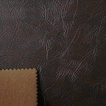 Leather sofa fabric