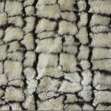 Embossing design fur