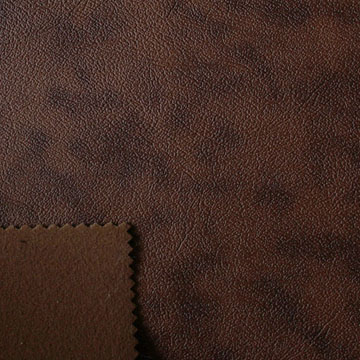 Leather sofa seat fabric